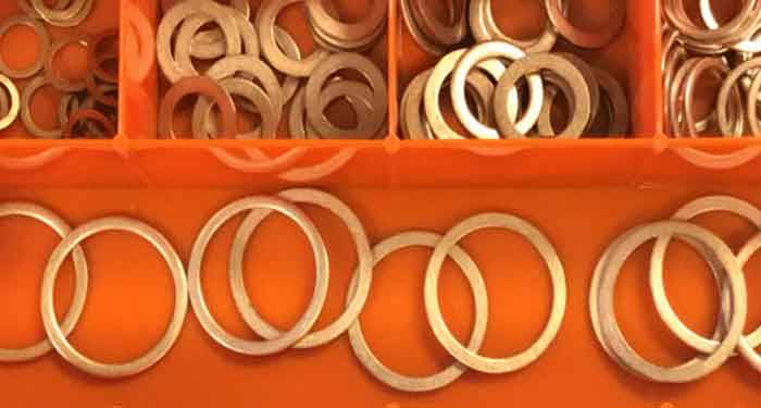copper washer kit