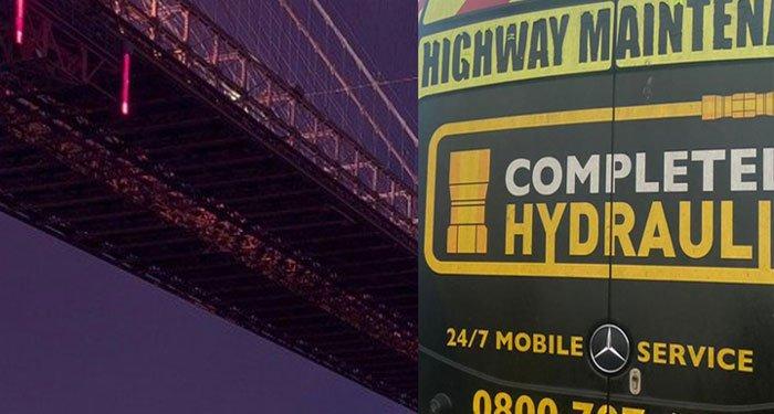 London hydraulic bridge repairs