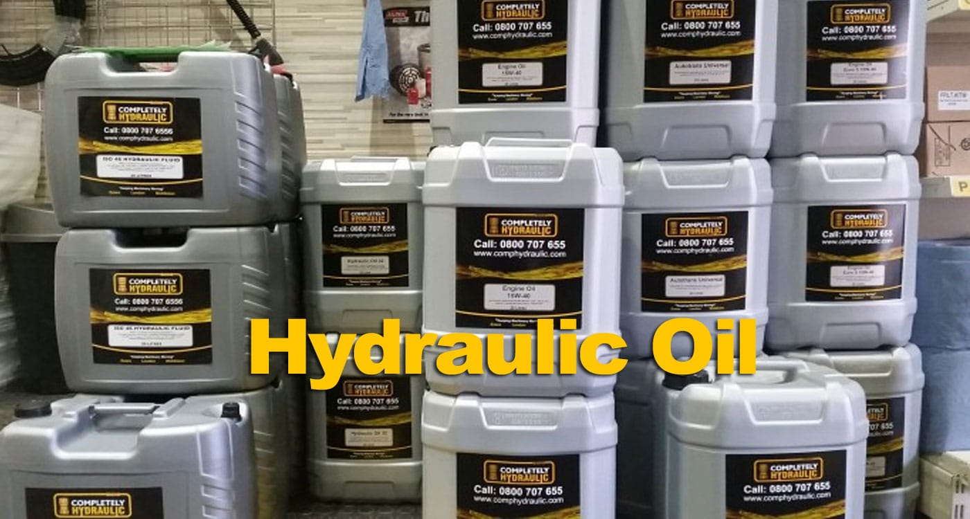 Choosing The Correct Hydraulic Oil