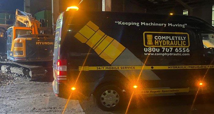 Local Hydraulic Breakdown Service