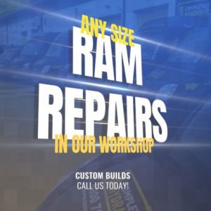 Local hydraulic ram repairs