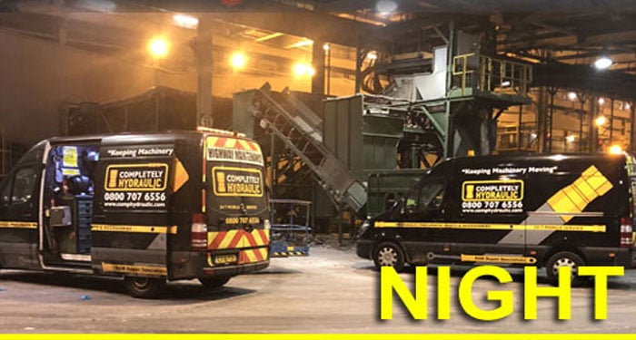 Night-Time Hydraulic Repairs