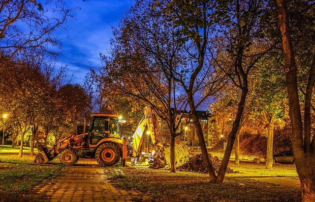 Night time hydraulic repairs
