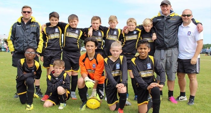Under 13 Thurrock Tigers-
