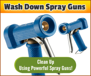 Wash Down Spray Guns