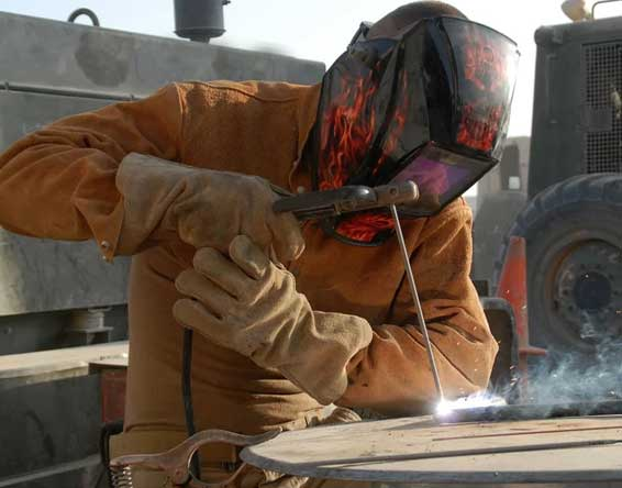 Hydraulic welding services