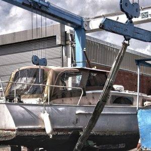 hydraulic boat repair