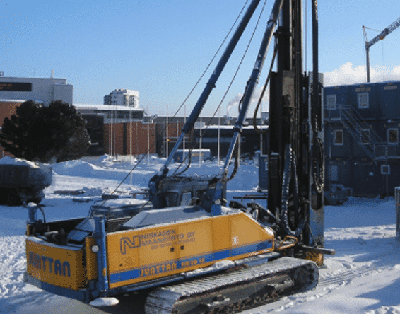 piling rig