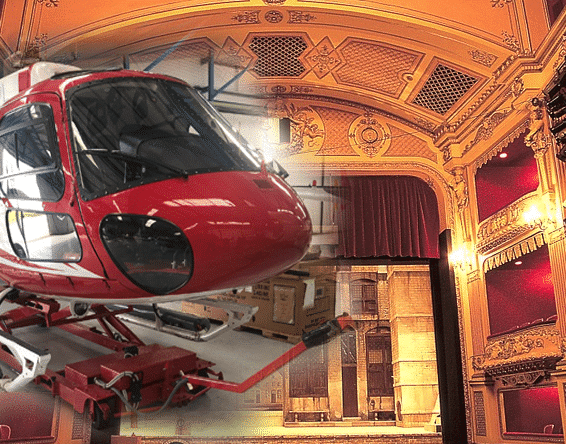 hydraulics in the theatre
