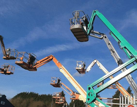 hydraulic lift and platforms