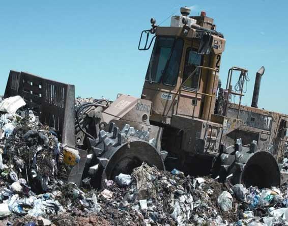 waste management vehicle