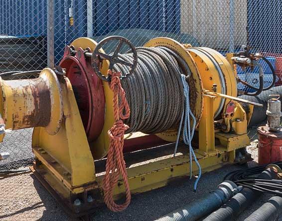 hydraulic winch repairs
