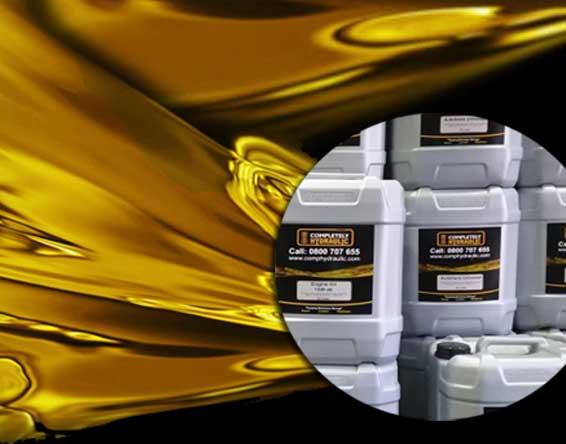 hydraulic oil supply