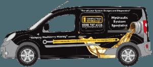 completely hydraulic van