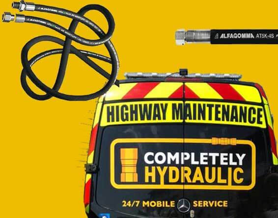 Hydraulic hoses and services, in the Hayes and Heathrow area