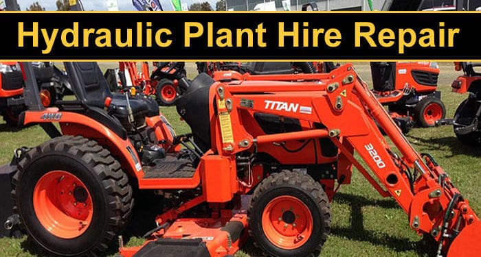 Plant Hire Repair