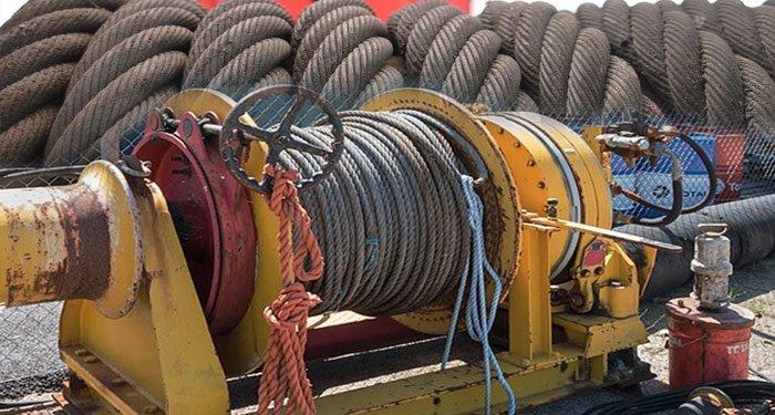 hydraulic winch repair