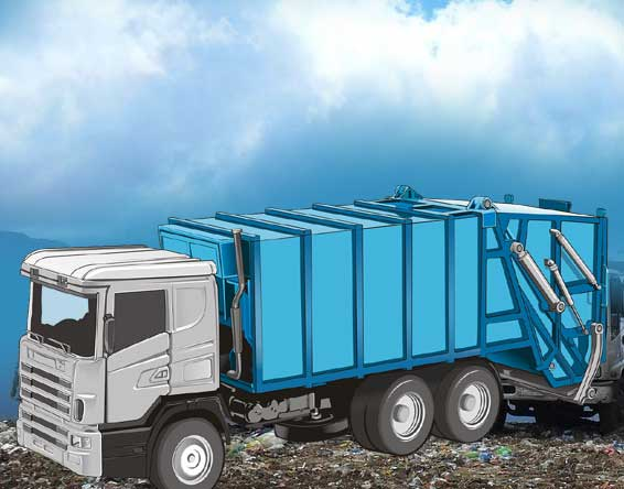 hydraulics for waste management